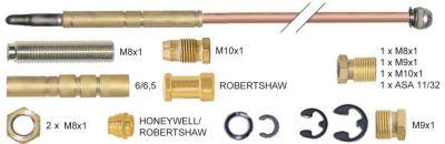 σετ θερμοκόπιες 17 τεμαχίων Μ 1200mm ø 5mm μήκος ακίδας 15mm ΜΣ 40mm