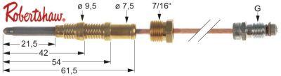 θερμοκόπια ROBERTSHAW  ASA 11/32  Μ 24″ - 610 mm 7/16″