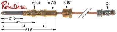 θερμοκόπια ROBERTSHAW  ASA 11/32  Μ 48″ - 1220 mm 7/16″