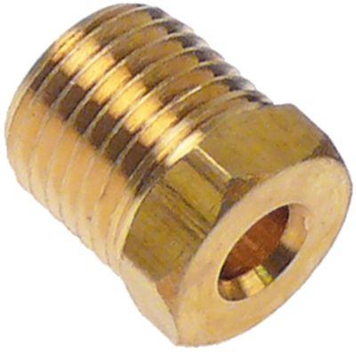 βίδα σύνδεσης σπείρωμα M10x1  για ø σωλήνα 4mm  Ποσ. 5 τεμ.