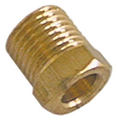 βίδα σύνδεσης σπείρωμα M10x1  για ø σωλήνα 6mm  Ποσ. 5 τεμ.
