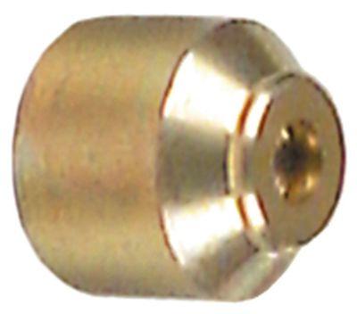 ακροφύσιο πιλότου LPG κωδικός 25 Ποσ. 5 τεμ. κατάλληλο για σειρά 160 ø ακροφυσίου 0.3mm