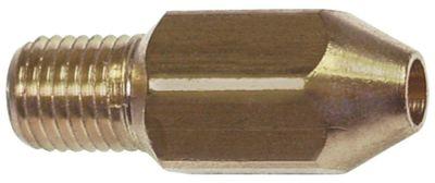 ακροφύσιο αερίου σπείρωμα M6x0,75  ΜΚ 8 εσωτερική ø 1,65mm