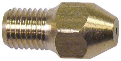 ακροφύσιο αερίου σπείρωμα M6x0,75  ΜΚ 8 εσωτερική ø 1mm