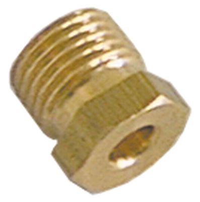 βίδα σύνδεσης σπείρωμα M10x1  για ø σωλήνα 4mm  Ποσ. 10 τεμ.