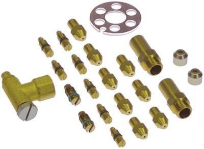 ακροφύσια αερίου σετ LPG για συσκευή για αυτονομία αερίου 4