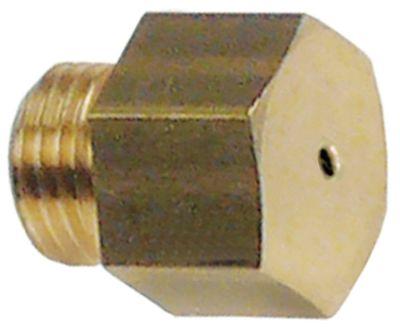 ακροφύσιο αερίου σπείρωμα M10x1  ΜΚ 13 εσωτερική ø 1.2mm