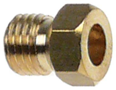 ακροφύσιο αερίου σπείρωμα M6x0,75  ΜΚ 7 εσωτερική ø 2.5mm