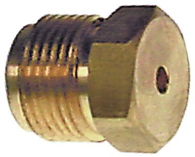 ακροφύσιο αερίου σπείρωμα M13x1  εσωτερική ø 0.9mm ΜΚ 13