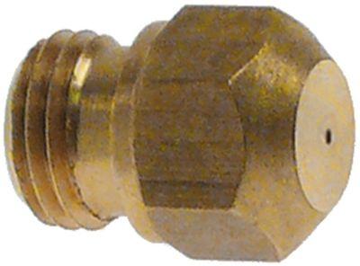 ακροφύσιο αερίου σπείρωμα M9x1  ΜΚ 10 εσωτερική ø 0.7mm