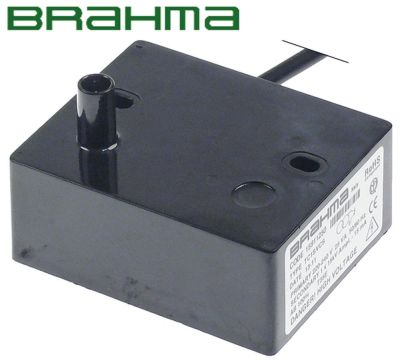 γεννήτρια σπινθηριστή έξοδοι 1 220-240VAC  διαστάσεις 85x70x35 mm απόσταση στερέωσης 60mm