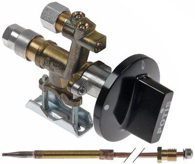 βαλβίδα αερίου MADEC  τύπος LPG με θερμοστοιχείο και κομβίο