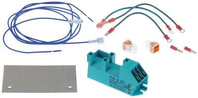 γεννήτρια σπινθηριστή έξοδοι 4 230VAC  διαστάσεις 111x28x34 mm απόσταση στερέωσης 98mm