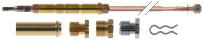 σετ θερμοκόπιες 6 τεμαχίων Μ 1200mm βιδωτή σύνδεση