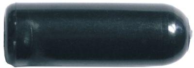κυλινδρική λαβή σπείρωμα M10  εσωτερική ø 13.6mm ø 24mm Μ 80mm πλαστικό