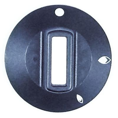 κομβίο βάνα αερίου χωρίς φλόγα ανάφλεξης Μέγ. Θ  -°C ø 50mm ø άξονα 6x4,6 mm