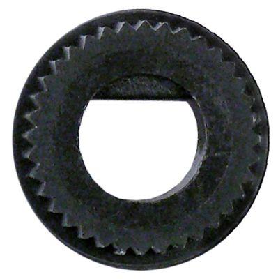 αντάπτορας κομβίου ø άξονα 10x8 mm Μ 0mm