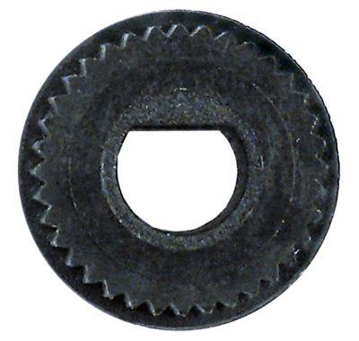 αντάπτορας κομβίου ø άξονα 8x6,5 mm Μ 0mm