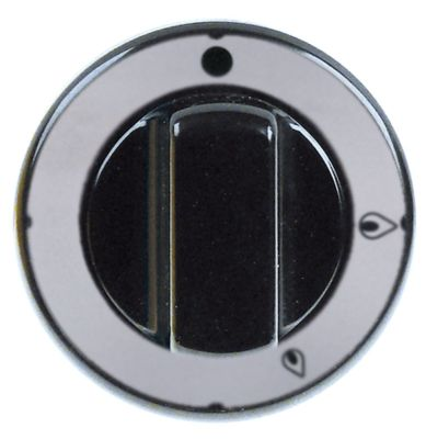 κομβίο βάνα αερίου χωρίς φλόγα ανάφλεξης PEL20 ø 70mm ø άξονα 8x6,5 mm