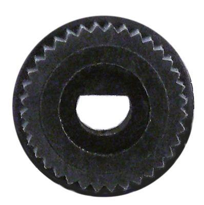 αντάπτορας κομβίου ø άξονα 6x4,6 mm Μ 0mm με ελατήριο
