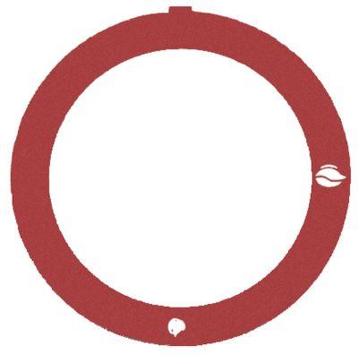 δίσκος ενδείξεων κόκκινο βάνα αερίου χωρίς φλόγα ανάφλεξης SIRAL
