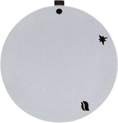 δίσκος ενδείξεων βαλβίδες αερίου NOVASIT ασημί ΕΞ. ø 45mm