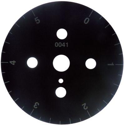 δίσκος ενδείξεων διαβάθμιση 5min  μόνιμη θέση αρ. περιστροφή 30-330 ° ø 60mm