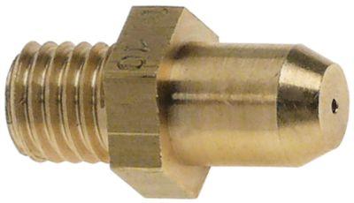 ακροφύσιο αερίου σπείρωμα M10x1,5  ΜΚ 14 εσωτερική ø 1.1mm