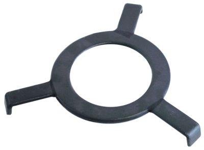 αστέρι ø 340mm ø δακτυλίου 190mm μήκος ποδιού 75mm χυτοσίδηρος κατάλληλο για ηλεκτρικό γουόκ