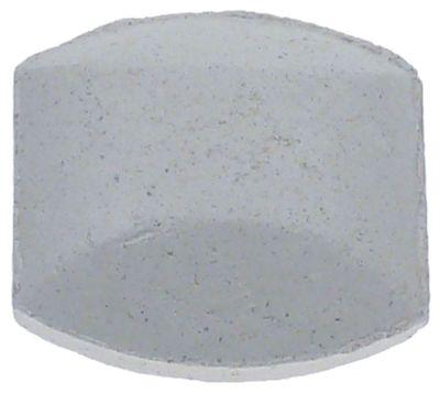 μπρικέτες κεραμικές  - μέγεθος 50x50x26mm  Ποσ. 40 τεμάχια (2,4kg)