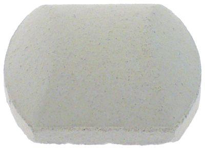 μπρικέτες κεραμικές μέγεθος 53x53x24  Ποσ. 80 τεμάχια (4,1kg)