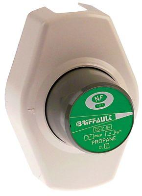 ρυθμιστής πίεσης αερίου 4kg/h πίεση εξόδου 37mbar