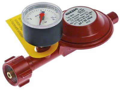 ρυθμιστής πίεσης αερίου EN61-t  σύνδεσμος μικρές φιάλες αερίου - 1/4