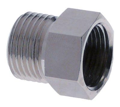αντάπτορας χωρίς τσιμούχα σπείρωμα 1/2″ εξωτερικό σπείρωμα  - M20x1.5 εσωτερικό σπείρωμα