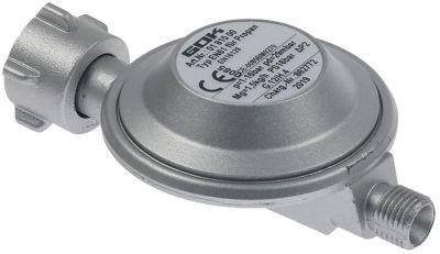 ρυθμιστής πίεσης αερίου EN61  σύνδεσμος μικρές φιάλες αερίου - 1/4
