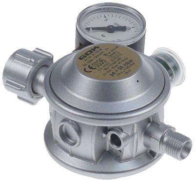 ρυθμιστής πίεσης αερίου EN61-DS  1,5kg/h χώρες DE  μέγ. πίεση εισόδου 0,3-16 bar πίεση εξόδου 50mbar
