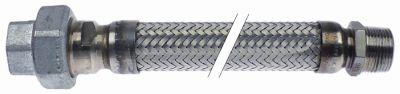σωλήνας αερίου έγκριση DIN-DVGW  Μ 910mm DN25  σύνδεσμος 1