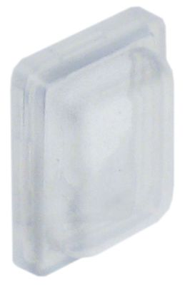 προστατευτικό κάλυμμα διαστ. τοποθέτ.  - για διακόπτη πίεσης  - διαφανές  - H 7.5mm