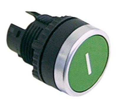 κουμπί διαστ. τοποθέτ. ø22mm  πράσινο I