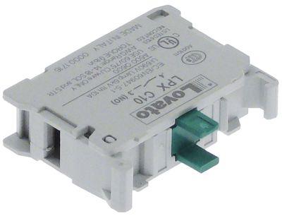μπλοκ διακόπτη LOVATO  LPX C10 1NO  μέγ. 690V 10A ανοικτό γκρι