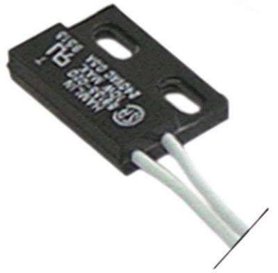 μαγνητικός διακόπτης Μ 29mm W 19mm 1NO  250V 0,04A Μέγ. Ισχύς 10W σύνδεσμος καλώδιο
