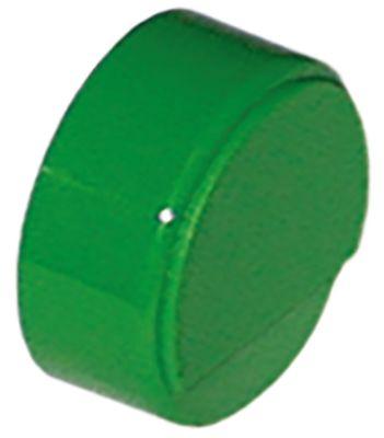 κουμπί πίεσης ø 23mm πράσινο  -  -