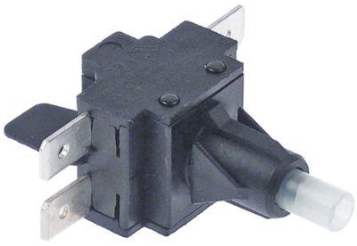 διακόπτης 2NO  250V 16A σύνδεσμος αρσενικό εξάρτημα 6,3mm