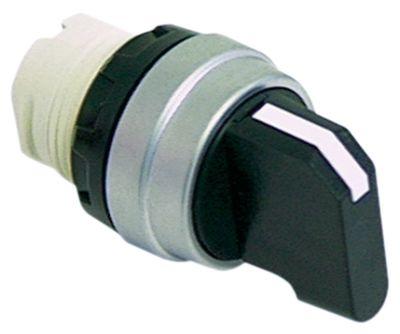 περιστροφικός επιλογέας διαστ. τοποθέτ. ø22mm  στιγμιαίο ακολουθία 1-0-2