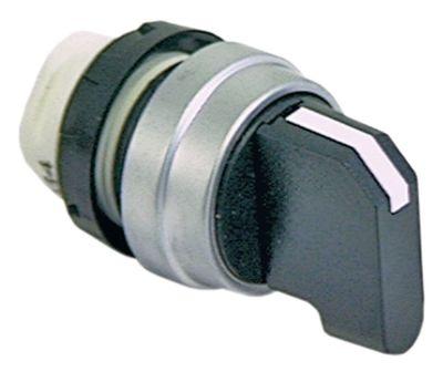 περιστροφικός επιλογέας διαστ. τοποθέτ. ø22mm  μανδάλωση ακολουθία 1-0-2