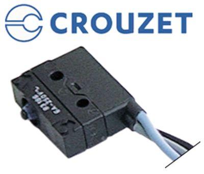 μικροδιακόπτης με έμβολο 250V 6A 1CO  σύνδεσμος καλώδιο 500mm