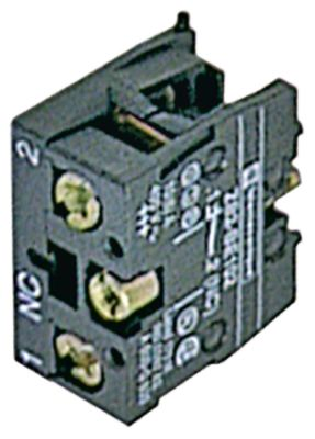 μπλοκ διακόπτη EFA  ZB2BE102 1NC  μέγ. 230V 10(6) A μαύρο