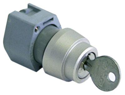 διακόπτης με κλειδί ø22mm  μανδάλωση ακολουθία 0-1