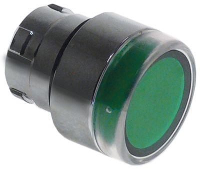 κουμπί ø22mm  πράσινο