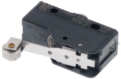 μικροδιακόπτης με λαβή με διακόπτη λειτουργία με ράουλο και μοχλό 250V 16A 1CO